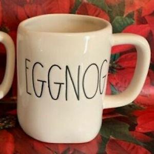 Rae-Dunn-EGGNOG-Coffee-Mug-Cup-Farmhouse-Artisan-NEW