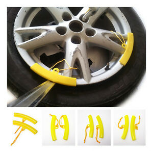 2Pcs Wheel Rim Protectors Car Tyre Rim Saver Motorcycle Tyre Changing Protection Tool Mount Tyre Changer Guard Fixing Tyre Rim Cover