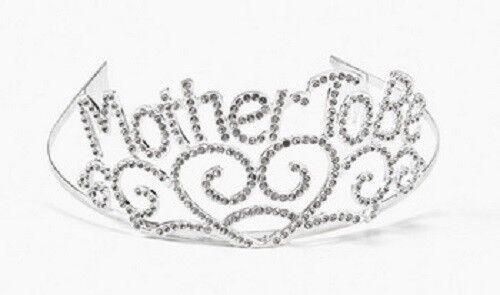 Metal Mother To Be Tiara Baby Shower Mom Gift Crown Fun Express In
