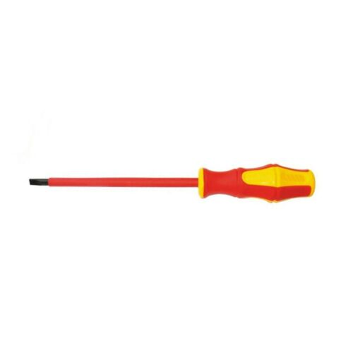 0.8*4*100mm 1000V VDE Insulated Slotted Screwdriver with PP+TPR Handle