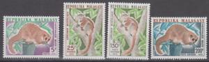 PP119-REP-OF-MALAGASY-MADAGASCAR-STAMPS-1973-WILD-ANIMALS-FAUNA-LEMUR-MNH