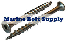 8 Stainless Steel Deck Screws Square Drive Select Length In Listing