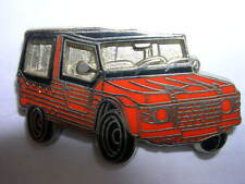 PIN'S VOITURE CITROEN MEHARI ORANGE /  EMAILLEE /  SUPERBE