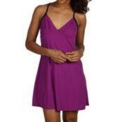 Casual Sun Dress NEW Womens S M L SPEEDO Purple Twist Back Beach Pool Cover Up