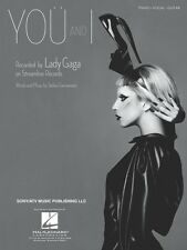 You and I Sheet Music Piano Vocal Lady Gaga NEW 000354228