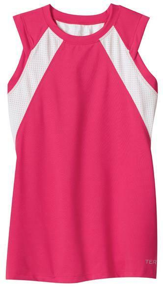 Terry Women's Zephyr Tank Bicycle Bike Jersey Berry White - Small