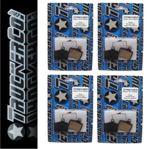 4pr TruckerCo Organic S Disc Brake Pads Hayes STROKER RYDE comp DYNO sport osm17