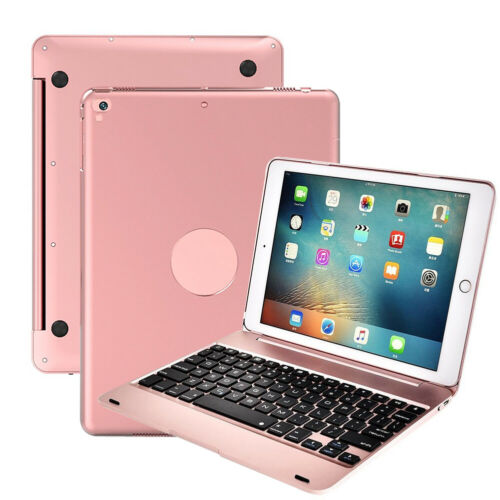 Ultra-Slim Clamshell Lightweight Keyboard Case For 2018 6th 5th Gen iPad,Pro 9.7