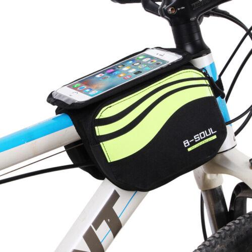 Cycling  Bike Frame Bag Bicycle Phone Holder Mount Holder Bag For 5.7/'/' Phone