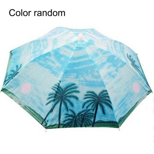 Headwear Umbrella Hat Cap Beach Sun Rain Fishing Camping Hunting  MultiColor  ns