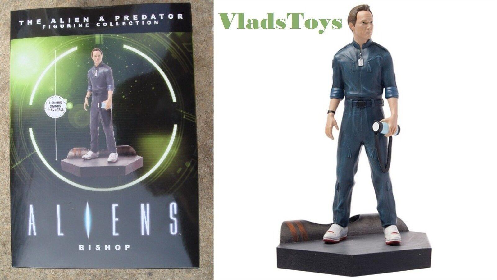Eaglemoss 1 16 Alien & Predator Lance Bishop Statuetta (Alieni 1986) Numero 19