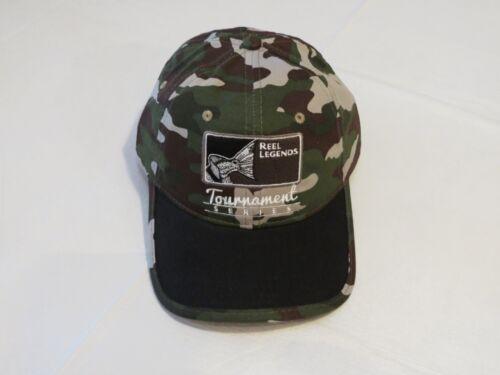 Reel Legends tournament series fishing fish cap hat camo NEW camouflage Men/'s
