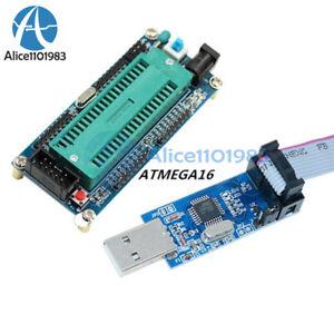 USB ISP USBasp Programmer AVR ATMEGA16 Minimum System Board ATmega32