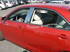 2004-2008 Mazda 3 Mazda3 Chrome 4Pc Pillar Post Stainless Steel