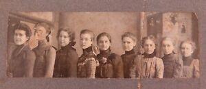 1800s-PRESBYTERIAN-CHURCH-SUNDAY-SCHOOL-CLASS-OHIO-USA-PHOTO-NAMES