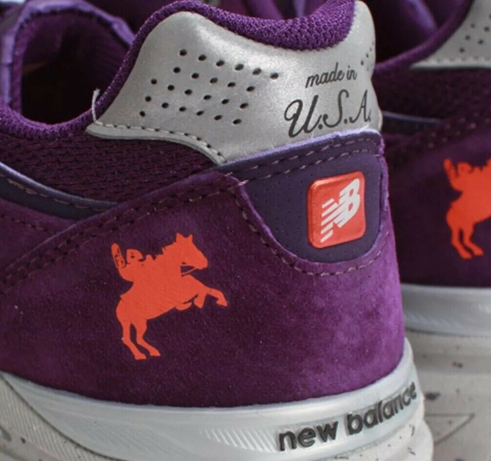RARE New Balance 990v3 Boston Marathon 2013 Edition 10.5 Purple 990 W990BOS3 �