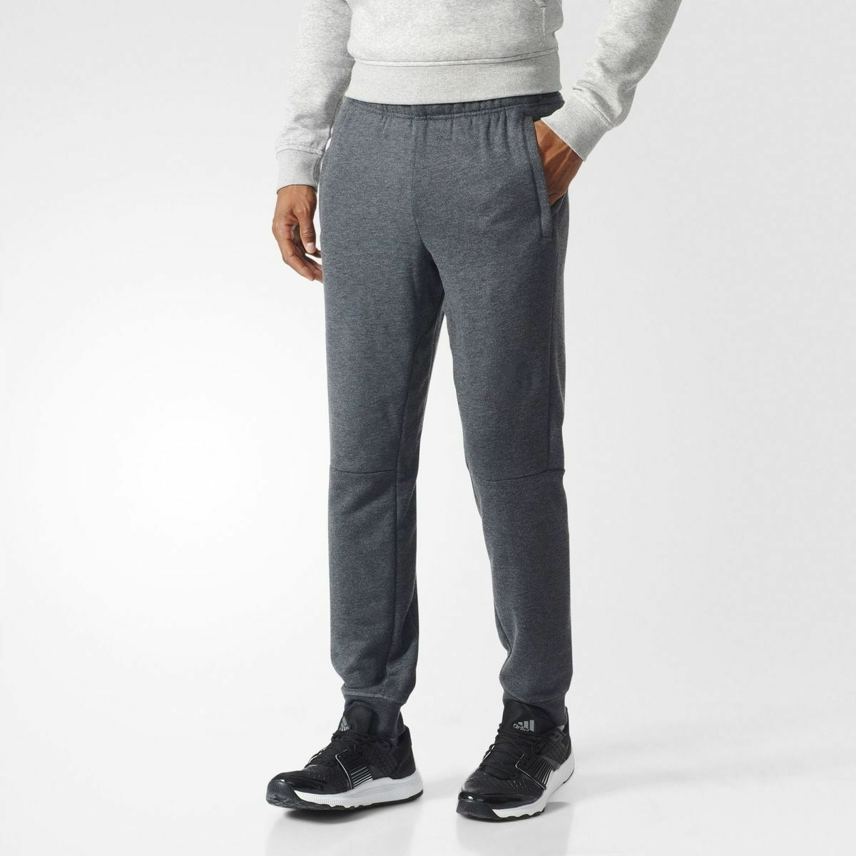 ADIDAS WORKOUT  PANT TROUSERS ORIGINAL CLIMALITE GREY BK0945 (PVP IN STORE 59E)  just buy it
