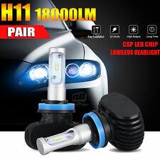 PHILIPS H11 H8 H9 180W 18000LM LED Headlight Kit Low Beam Bulbs High Power 6500K