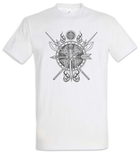 Viking Gear Ornament T-Shirt Vikings Odin Hugin und Munin Walhalla Wikinger Thor