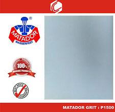 Matador Waterproof Sander Paper Grit : P1500