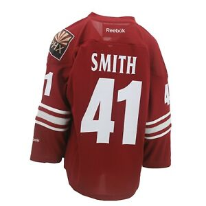 Arizona-Coyotes-Official-NHL-Reebok-Kids-Youth-Size-Mike-Smith-Jersey-New-Tags