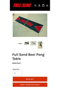 Details about Nelk Boys Full Send Table