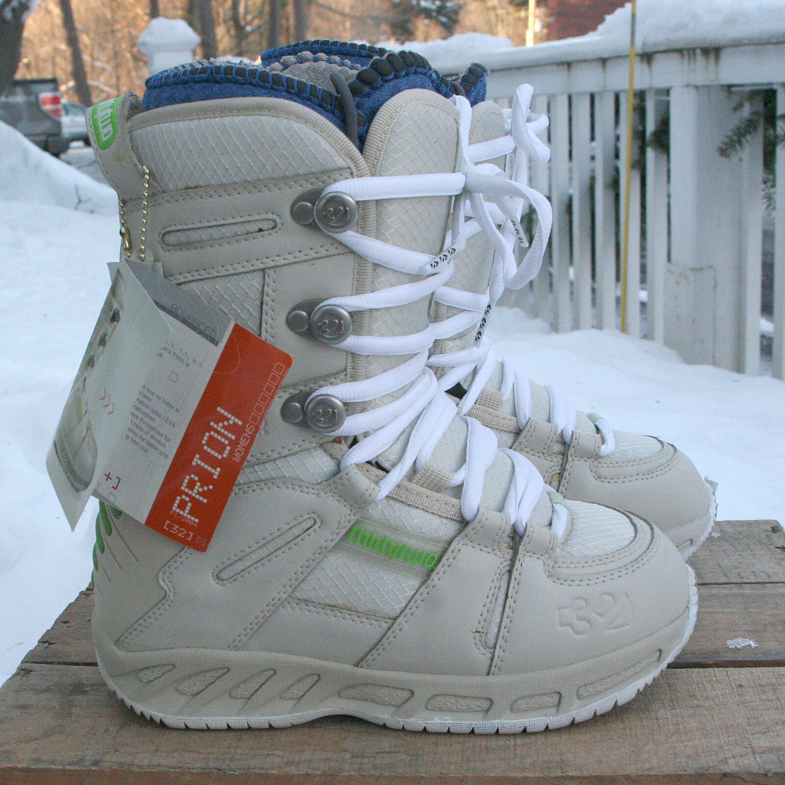 THIRTY TWO Prion Snowboard Boots SIze US 5   NWT