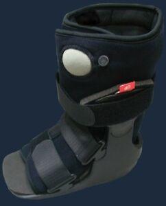 Details about Ankle Walker Boot Walking Foot Broken Leg Brace Shoe Brace  Smoothstep Lo Lowtop