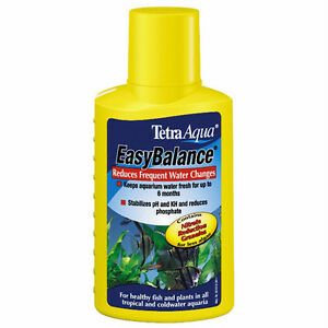 tetra easy balance 100ml 250ml 500ml fish tank treatment. Black Bedroom Furniture Sets. Home Design Ideas