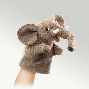 LITTLE-ELEPHANT-PUPPET-2940-Free-Shipping-Within-USA-Folkmanis-Puppets
