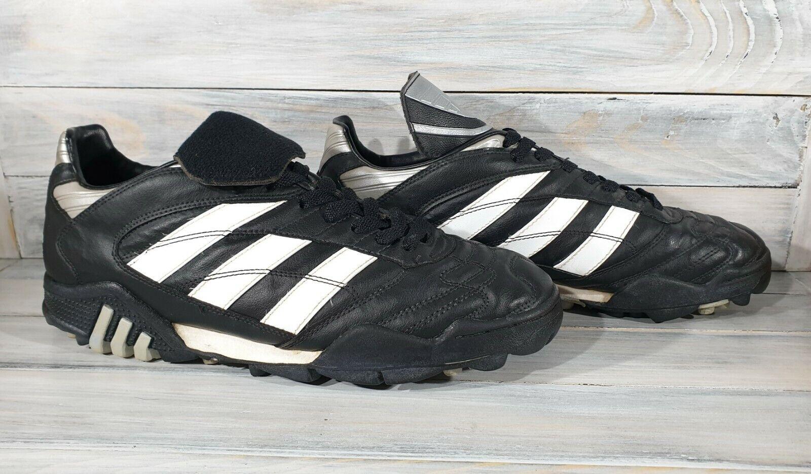 Vintage Adidas football boots 1996 , size 9 1 2 , rare