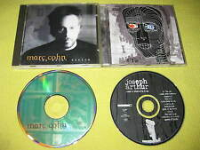Marc Cohn The Rainy Season & Joseph Arthur Where I'm From 2 CD Albums Sort Indie