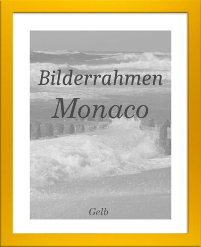 Bilderrahmen Monaco 26x32 cm Foto Poster Puzzle Galerie 32x26 cm