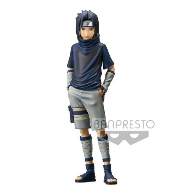 Banpresto Naruto Shippuden Grandista Shinobi Relations Uchiha Sasuke v.2