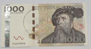 1000 Kronor 2005 Schweden Sweden Ett Tusen Kronen Ii Ebay