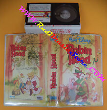 MINI VHS film BETAMAX ROBIN HOOD WALT DISNEY 5088 animazione (F111) no dvd