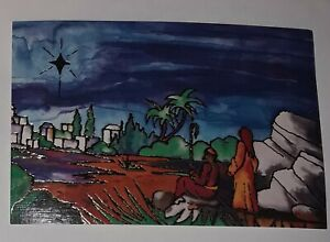 Mouth And Foot Painting Artists Christmas Card Star Of Wonder Kyriacou Ebay