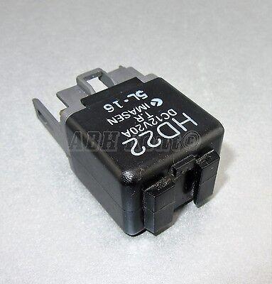 1990-2010 4-Pin Noir relais H300 DC12V 20 A no IMASEN Japon 12 V 540-MAZDA