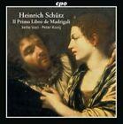 Schuetz Italienische Madrigale Op 1 0761203766024 CD P H