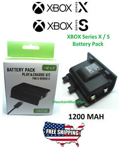 XBOX-Series-X-Rechargeable-Battery-Pack-Microsoft-Wireless-Controller-1200Mah