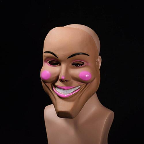 2018 New The Purge Mask Grin Film Movie Horror Fancy Dress Smiling Kiss Me God