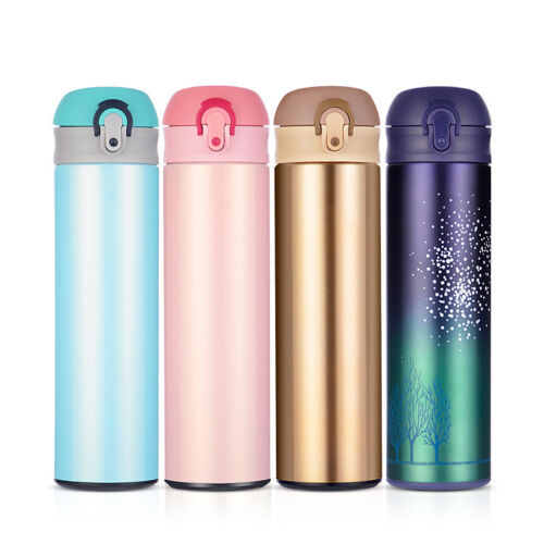 Thermos 16 oz Vacuum Insulated Stainless Steel Water Bottle Coffee Travel Mug