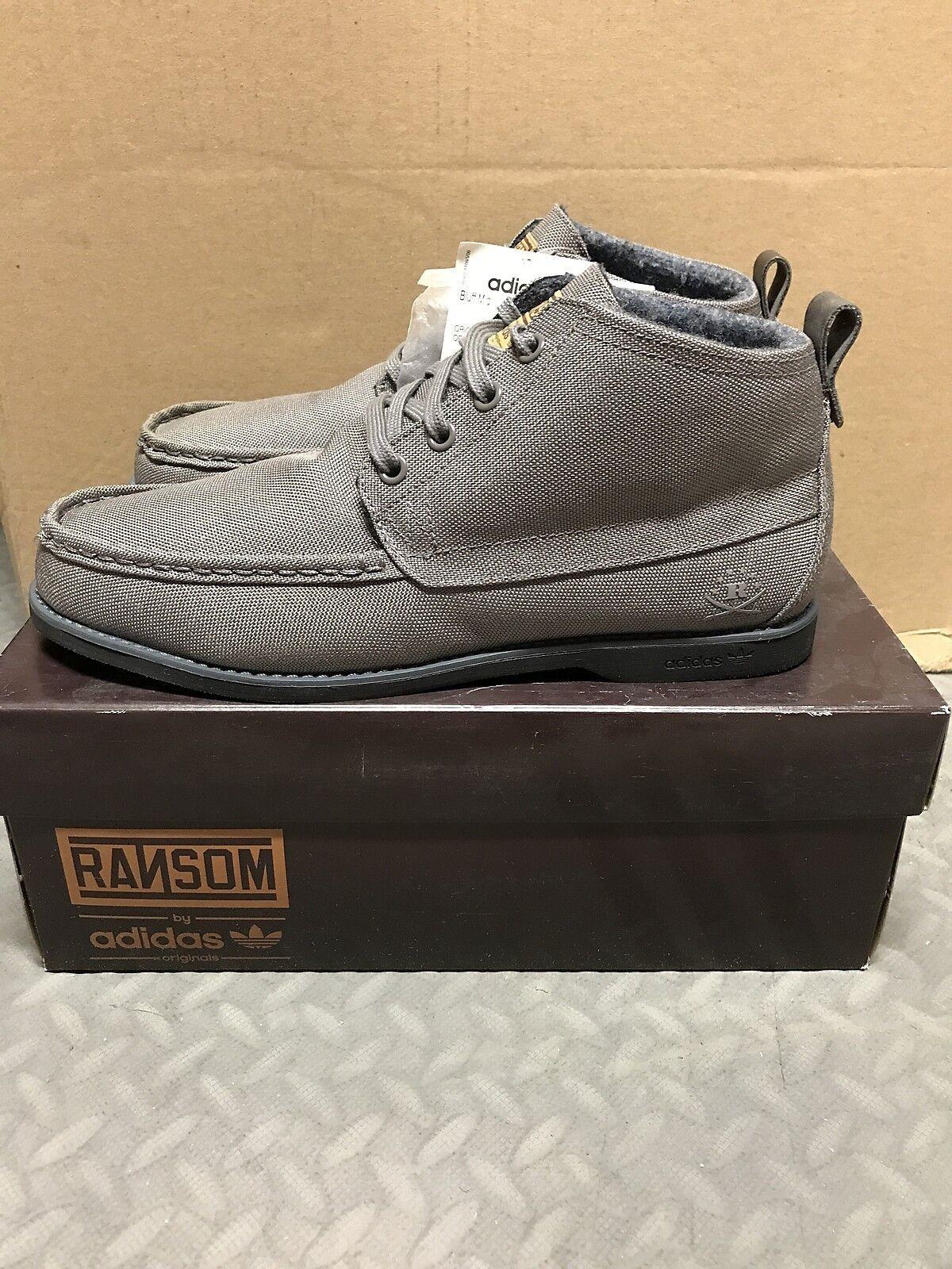 finest selection 9dddb 77462 Adidas Originals x Ransom Bluff Mid Sneakers Sneakers Sneakers Hombre  nuevos corredores de pizarra g50899 hierro