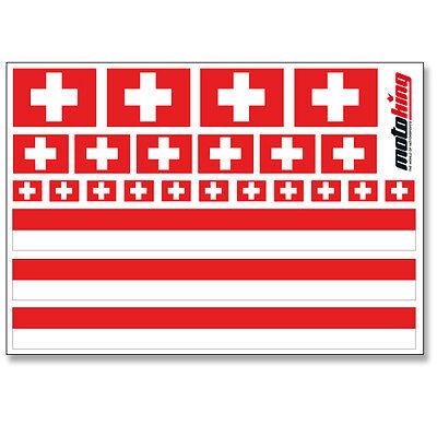 Flaggen Sticker Helm Fahrrad Modellbau Bobbycar Auto Ohne RüCkgabe Sanft Schweiz Aufkleber