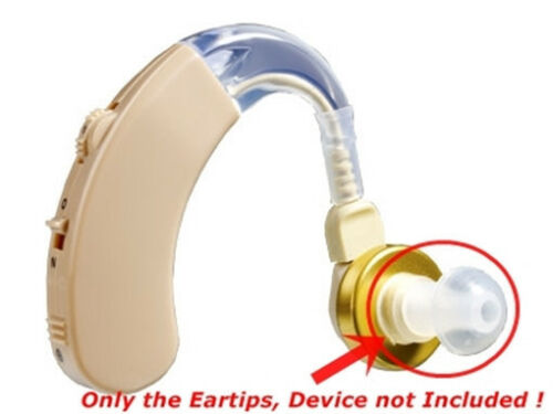 NEW 10 Small Size Replacement Dome Adapters for Siemens Lotus BTE Hearing Aids