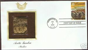 FIRST-DAY-OF-ISSUE-COVER-3802d-ARCTIC-TUNDRA