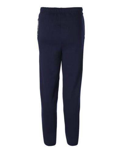 sf74R Sweats Size S-3XL Fruit of The Loom Men/'s OPEN BOTTOM POCKET Sweatpants