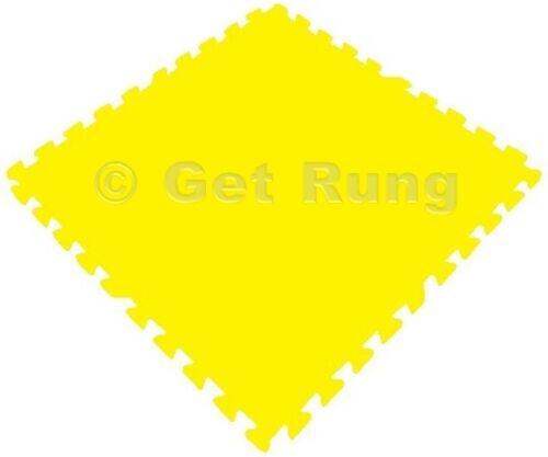 120 sqft yellow interlocking foam floor puzzle tiles mat puzzle mat flooring