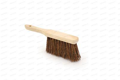 "BENTLEY STIFF WOOD HANDLE BASSINE HAND CLEANING SCRUBBING BRUSH 11/"" LONG"