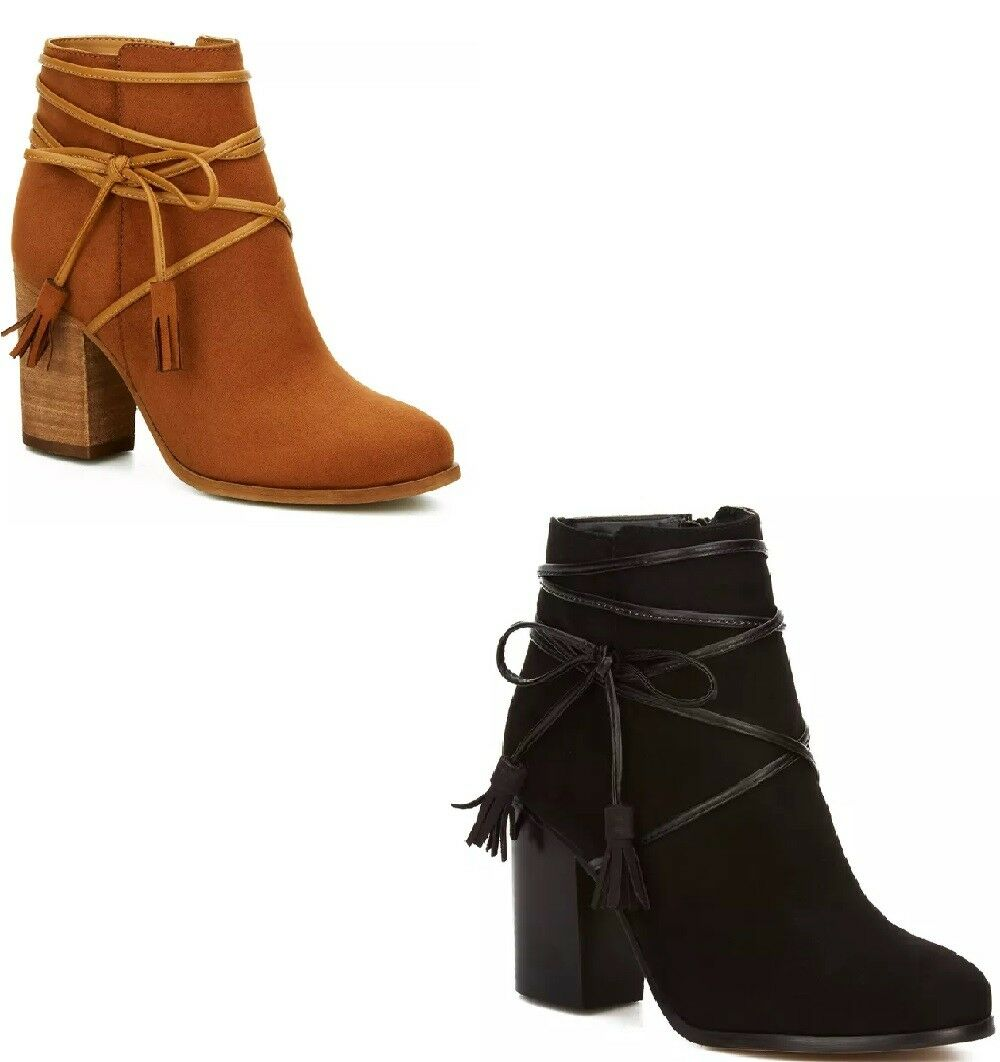 Honey or Black Women Ankle Boots in a Modern and Sophisticated Style by Andrea